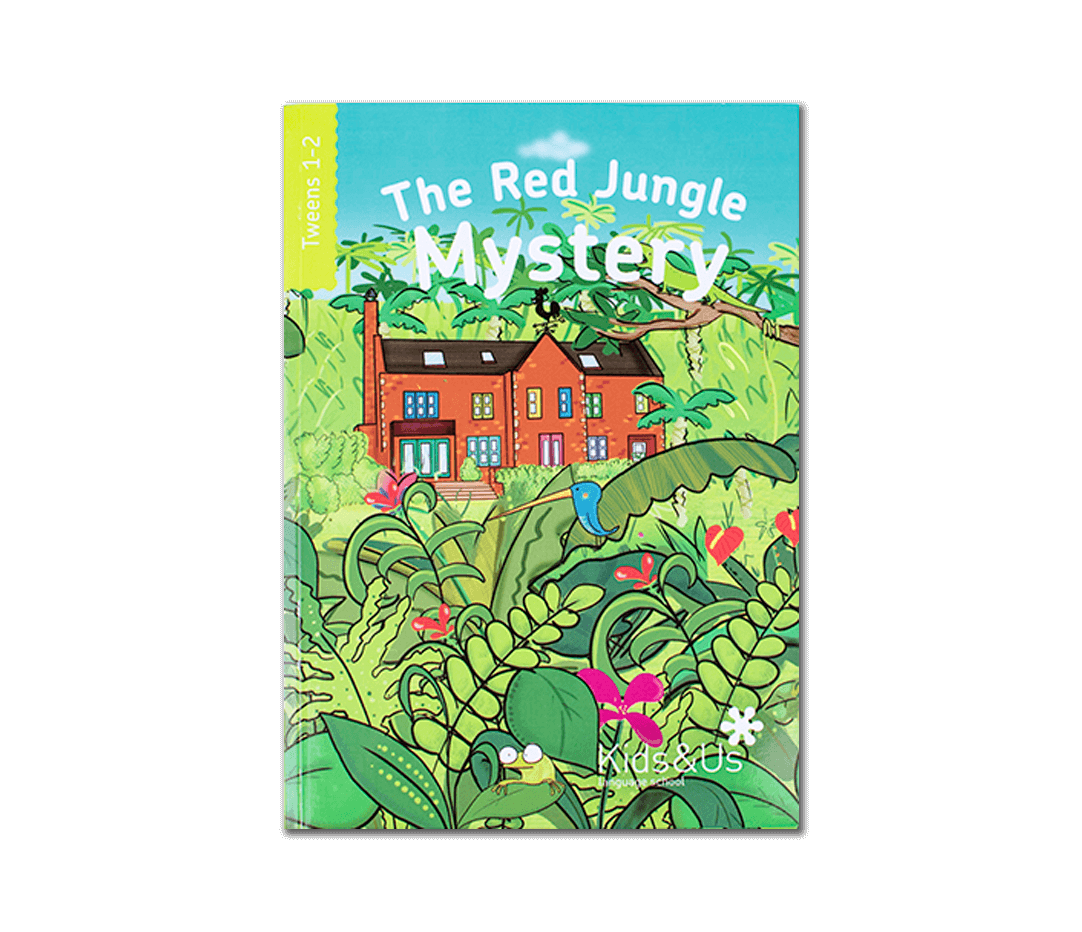 Lee The Red Jungle Mystery de Kids&Us